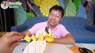 Tự Làm Con Ong Bằng Giấy | DIY How To Make Bee Paper