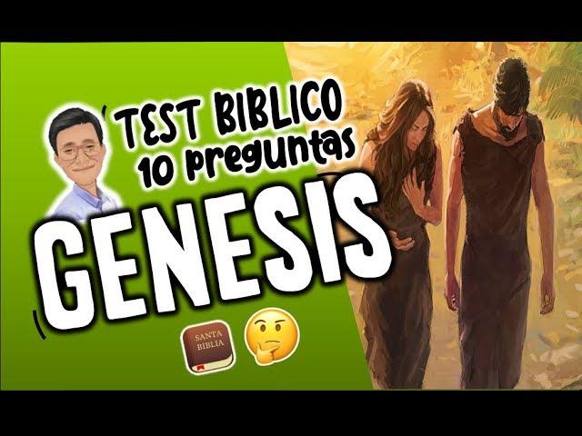 Genesis Test Biblico Cuanto Sabes De La Biblia Youtube