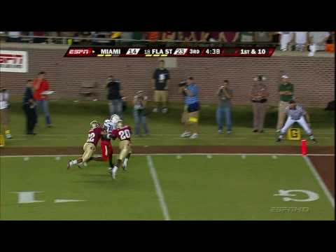 Highlights of Miami vs FSU 2009