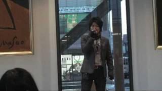 山口貴成唱王力宏的「在梅邊」@櫻美林大學