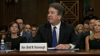 Brett Kavanaugh FULL Opening Statement | San Diego Union-Tribune