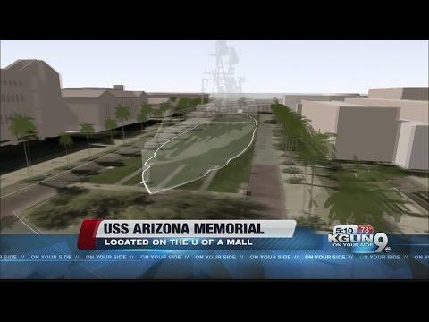 UA Foundation seeks donations to create USS Arizona mall memorial