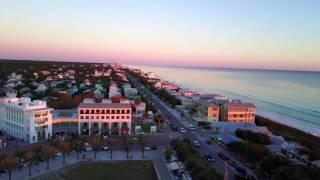 Seaside, Florida in December