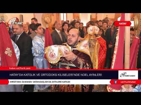 Hatay'da Katolik Ve Ortodoks Kiliseleri'nde Noel Ayinleri | 28.12.2018