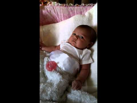 My baby girl 1 month old