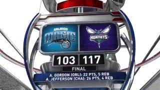 Orlando Magic vs Charlotte Hornets - April 13, 2016