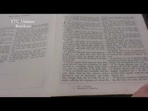 The Epistle Of Jude: A Verse-By-Verse King James Bible Study