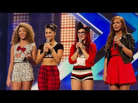 The IT Girls' audition - Spice Girls' Stop - The X Factor UK 2012