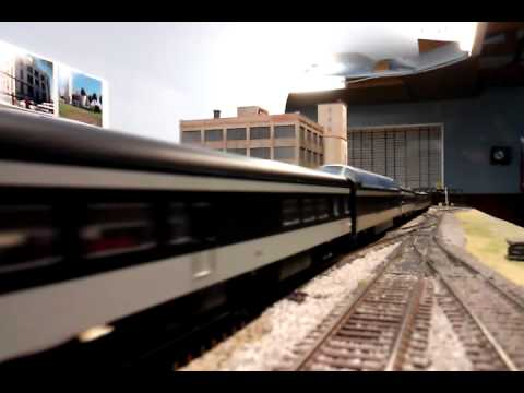 CN Super Continental on the CMRS layout