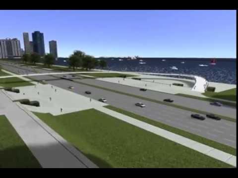 Grant Park at Queens Landing Proposed Pedestrian Bridge
