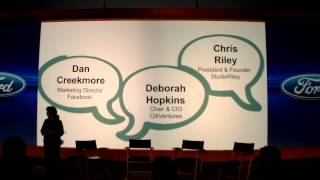 Ford Motor Company 2014 Trends Panel Discussion 1 12-12-13