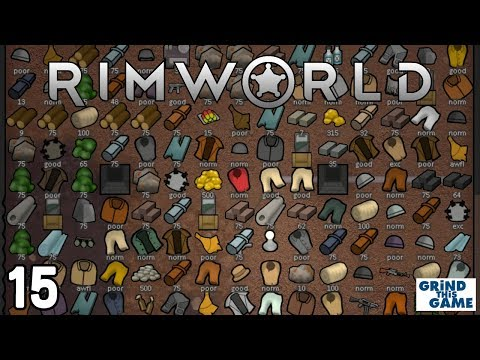 Rimworld 1.0 - Fabrication Bench & Chickens #15 - Boreal Forest Base [4k] - 동영상