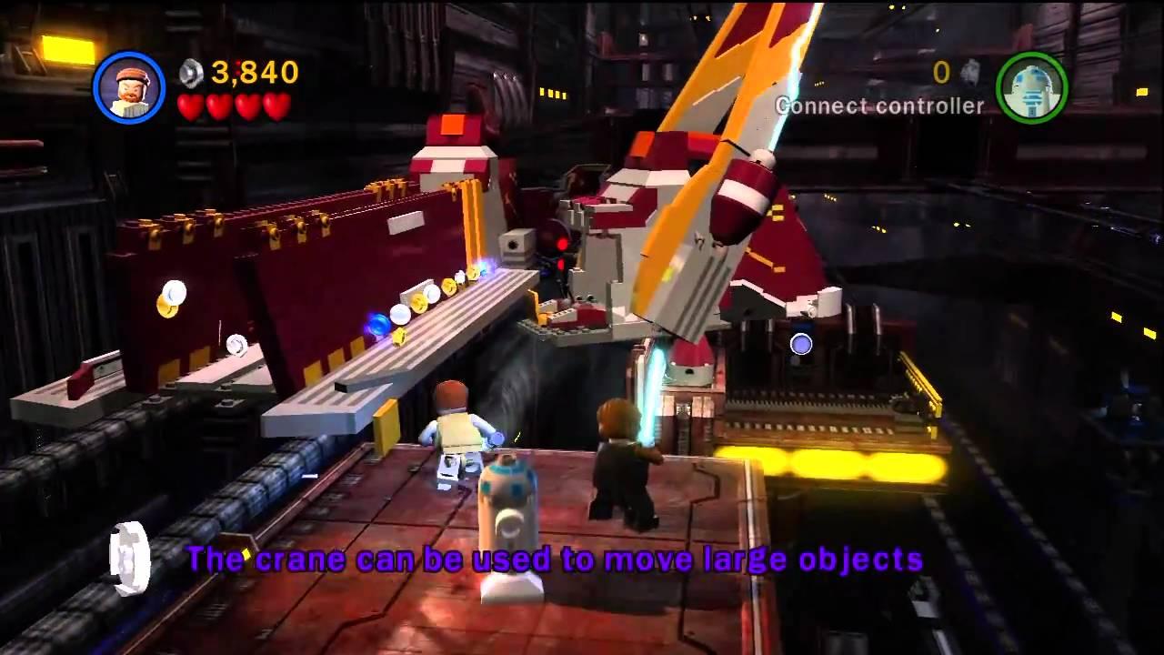 Lego Star Wars Episode 3 Demo Gameplay Hd 720p Xbox 360 Youtube