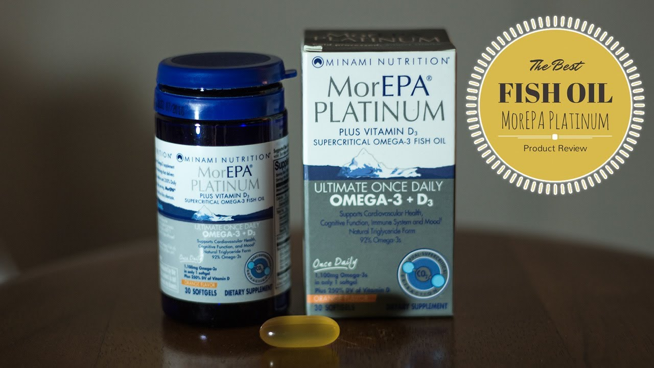 Best fish oil supplement morepa platinum review youtube for Fish oil supplements reviews