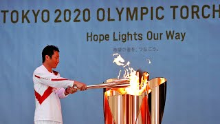 video: Tokyo 2020 Olympic torch relay: 2021 route, reaction and inspiration behind the design