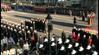 2011 Remembrance Sunday Ceremony at the Cenotaph - Part 2 of 3