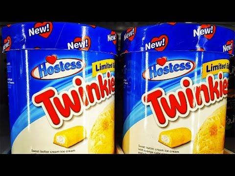 Hostess Twinkies Ice Cream Review - Ice Creamed My Pants