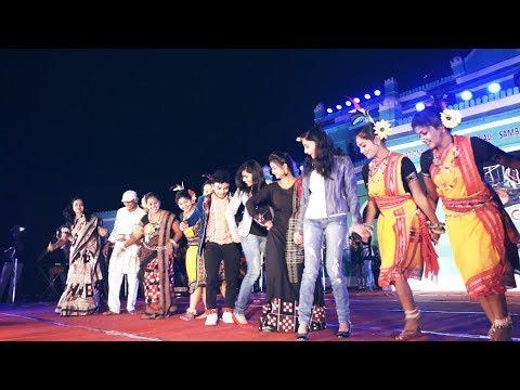Jitendra Haripal & Mantu Chhuria perform Sambalpuria Babu song