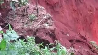 Download Video Detik-Detik Longsor Gunung Lio Salem Brebes, Jawa Tengah 22/02/2018 MP3 3GP MP4