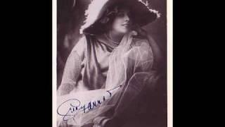 "Ambroise Thomas Mignon Geraldine Farrar ""Connais-tu le pays"""