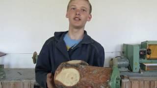 Работы детей. Токарная обработка древесины.