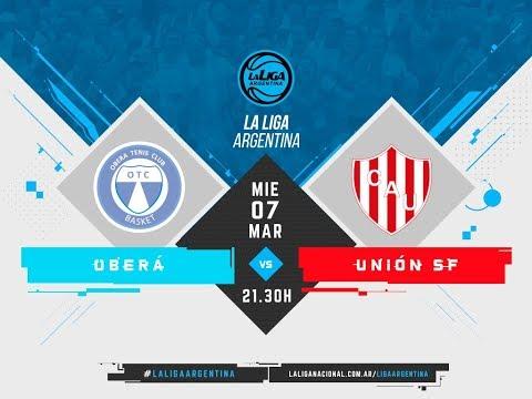 #LaLigaArgentina | 07.03.2018 Oberá Tenis Club vs. Unión de Santa Fe