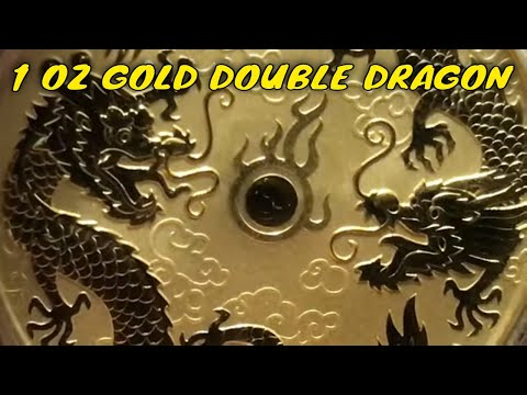 2020 1 Oz. Gold Double Dragon Coin Unboxing