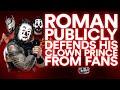 Roman Reigns DEFENDS Negative Fan Reaction To Seth Rollins | Off The Script 300 Part 2