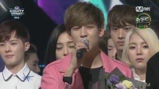 160303 Junior & BamBam (GOT7) MC Cut @ M! Countdown #7
