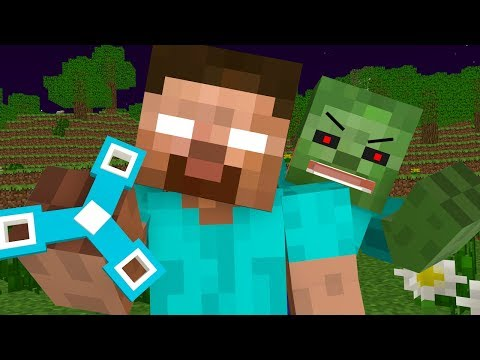 Thumbnail: Herobrine Life - Minecraft Animation