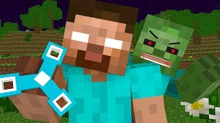 Herobrine Life -  Minecraft Animation