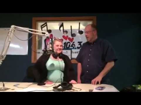 Mix 1043 Listener Takes Over the Radio Station for a Day