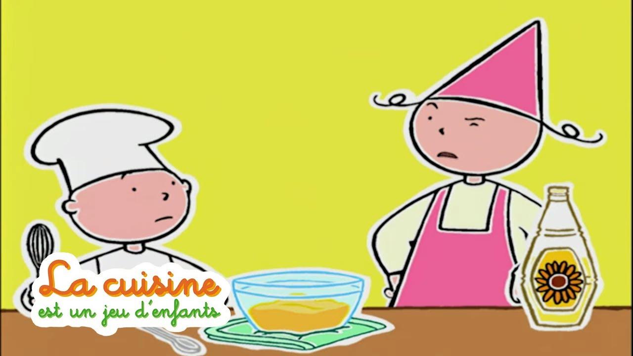 Mayonnaise La Cuisine Est Un Jeu D Enfants Youtube
