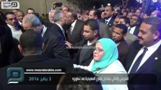فيديو| وزير التعليم ومحافظ الجيزة يفتتحان مسرح السيعدية