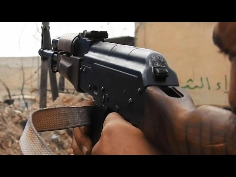 Syria War 2017 - Heavy Clashes and Firefights During the Battle for al-Bab