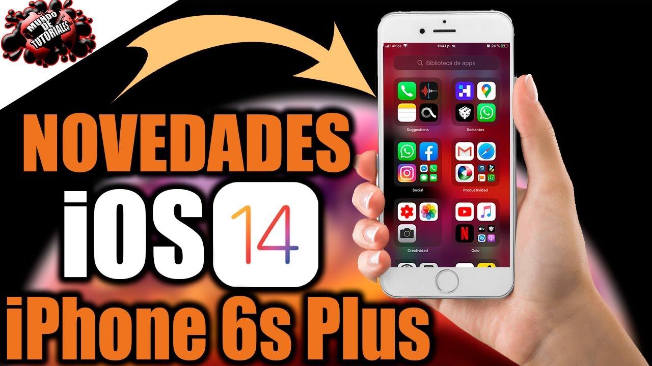 iOS 14 PRIMERA BETA  |REVIEW  Y NOVEDADES EN EL IPHONE 6S PLUS|