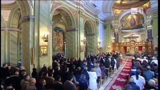 Celebrazione della Divina Liturgia nella Cattedrale di Lungro(2013).parte I