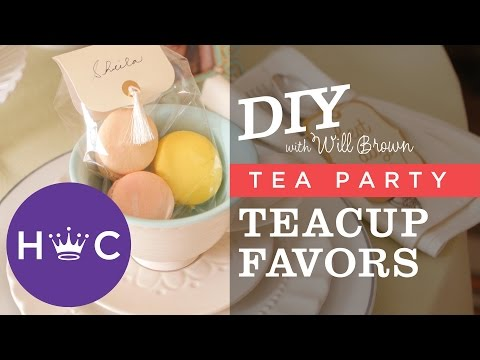 How to Make Teacup Party Favors