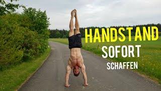 So schaffst du SOFORT einen Handstand!