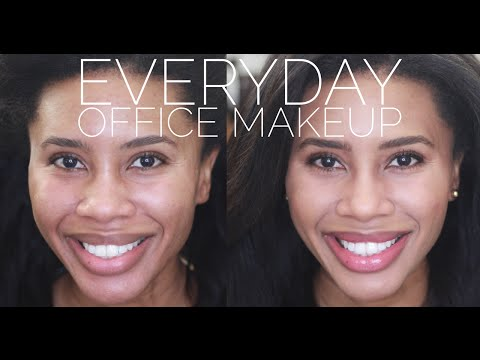Everyday Office Makeup   Natural