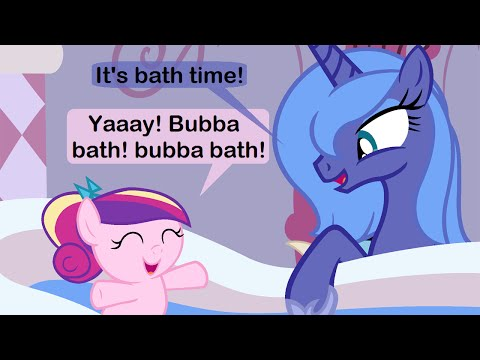 Bath Time Baby MLP Comic Dub YouTube