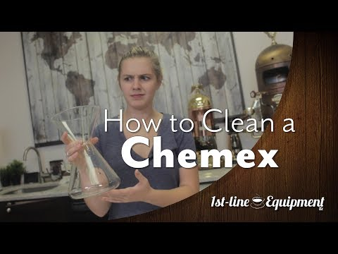 The Best Way to Clean a Chemex