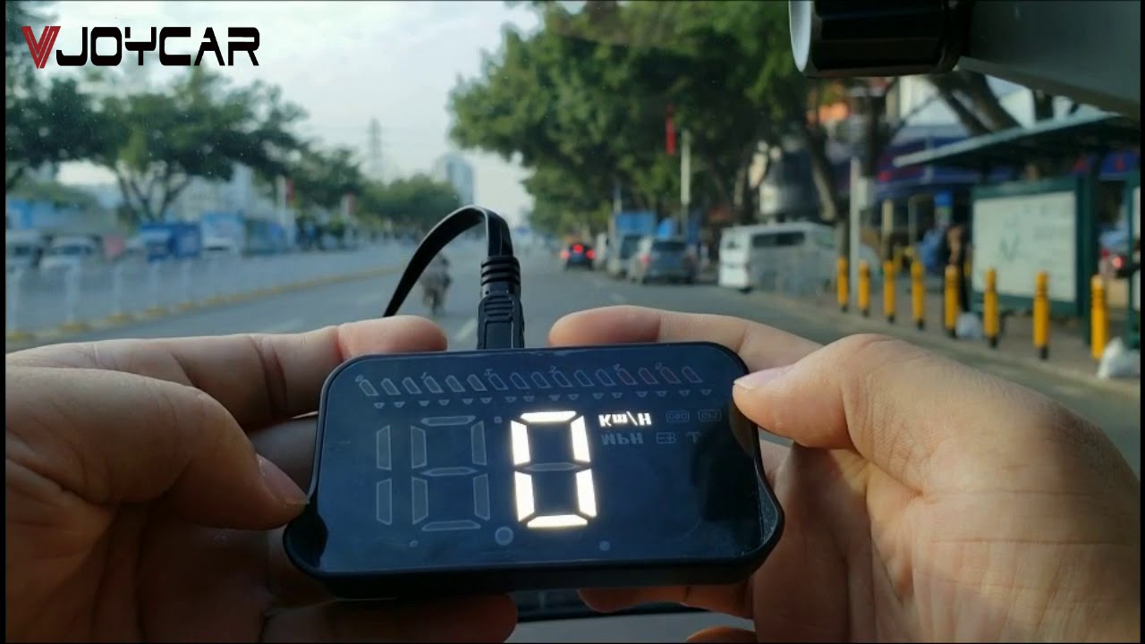 Mini GPS Speedometer OBD2 Car Head Up Display Windshield Projector Holder M7