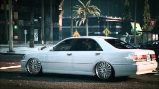 【GTA5】TOYOTA CROWN 170  実車MOD PV