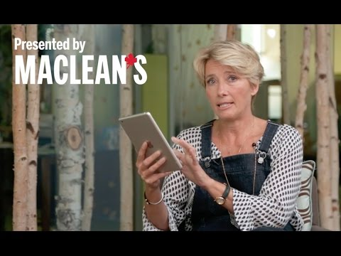 Emma Thompson takes the 60-Second Challenge