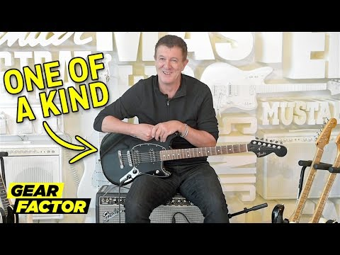Fender CEO Plays His Favorite Riffs on Rare + Weird Guitars