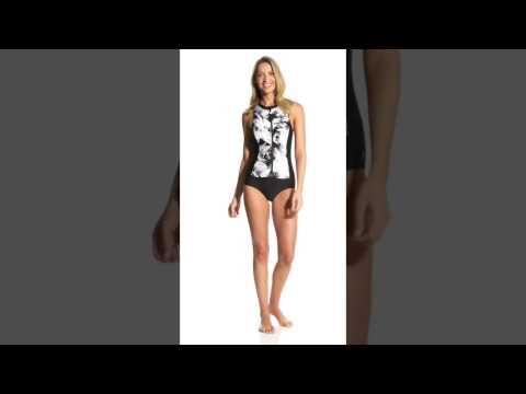 next-women's-lush-palm-malibu-tank-zip-one-piece-swimsuit-|-swimoutlet.com