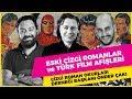 Eski Çizgi roman ve Türk Film Afişleri üzerine konuştuk! Orjinal Çizgi Roman Çizimleri Sergisi!