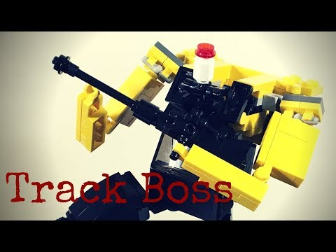 Lego Transformers by M1NDxBEND3R - Track Boss