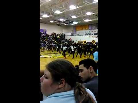 First pep rally experience